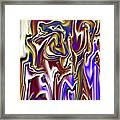 1717 Abstract Thought Framed Print