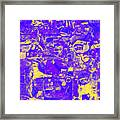 1743 Abstract Thought Framed Print