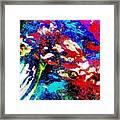 Digital Software Art Framed Print