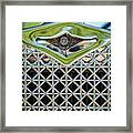 1930 Db Dodge Brothers Hood Ornament And Grille Framed Print