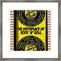 Birthplace Of Rock N Roll Framed Print