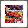 Boom Of The Tingling Strings Framed Print