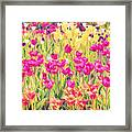 Impressionist Floral Xvi Framed Print