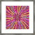 Infinity Star Flower An Abstract Fineart Expression By Navinjoshi At Fineartamerica.com Colorful Spe Framed Print