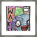 R U Awake Framed Print