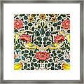 Rose Design Framed Print