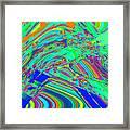 Sky Dive Framed Print