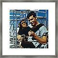 Space: Chimpanzee, 1961 Framed Print