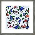 untitled  Floral Framed Print