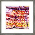 2007 Abstract Drawing 2 Framed Print