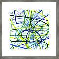 2007 Abstract Drawing 5 Framed Print