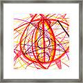 2007 Abstract Drawing 6 Framed Print
