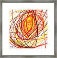 2007 Abstract Drawing 8 Framed Print