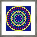 Mandala Ornament Framed Print