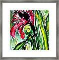 The Divine Flower Framed Print