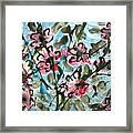 Divine Blooms Framed Print