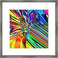 2x1 Abstract 308 Framed Print