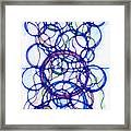 Abstract Pencil Pattern Framed Print