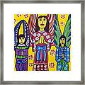 3 Angels Framed Print