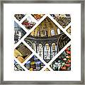Collage Of Istanbul  Framed Print