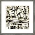 The Prospect Of Whitby Pub London Vintage Framed Print