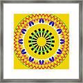 Mandala Ornament Framed Print