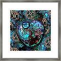 Abstract Orgone Framed Print