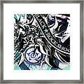 Black Rock Shooter Framed Print