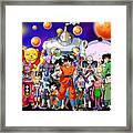 Dragon Ball Super Framed Print