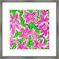 Flower Abstract  Framed Print