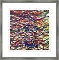 Jugglery Of Colors Framed Print