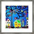 Mexican Town Framed Print