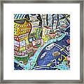 42nd And 8th Street Framed Print