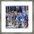 Fearless Femme Racing Framed Print