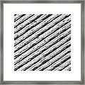 Diffraction Grating Tem Framed Print