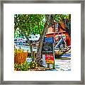 Key West Florida The Conch Republic Framed Print