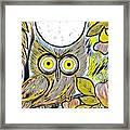 Owl Midnight Framed Print
