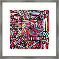 Jugglery Of Colors Framed Print