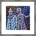 The Pain Of A Clown Framed Print