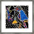 Murle South Sudanese Wise Virgin Framed Print