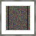 768 Digits Of Pi Up To Feynman Point, E And Phi Framed Print
