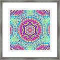 7th Dimension Activation 7 Framed Print