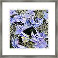 Close-up Of Flowers Framed Print