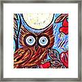 Owl Midnight Framed Print
