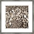 Pebbles 1 Framed Print