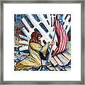 911 Cries For Jesus Framed Print