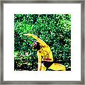 A Breath - Still - In The Moment Framed Print