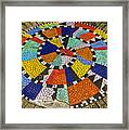 A Chip Off The Ole Mosaic Framed Print