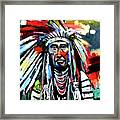 A Decorated Chief 1 Framed Print