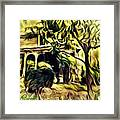 A Home Of Love Framed Print